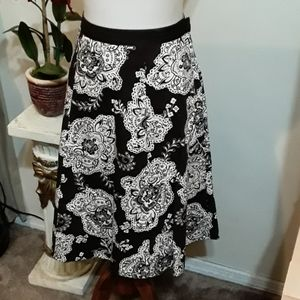 NWOT Talbots Cotton Skirt